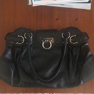 Salvadore Ferragamo black bag